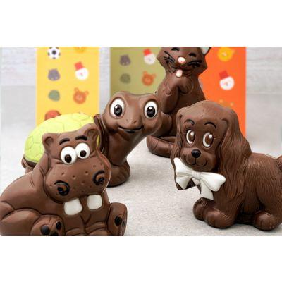 Figura de Chocolate: Hipopótamo