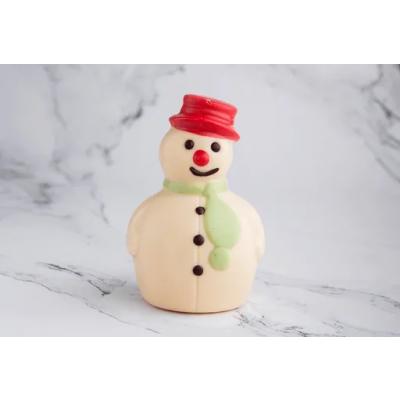 Figura de Chocolate: Muñeco de Nieve Chico