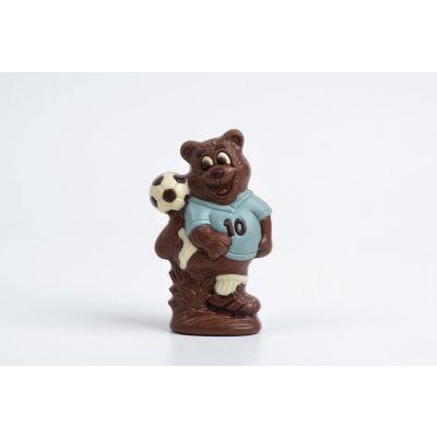 Figura de Chocolate: Oso con Pelota