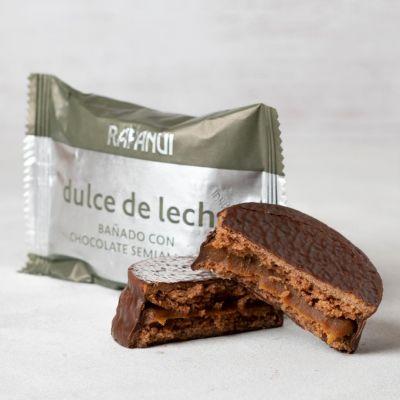 Alfajor de Dulce de Leche bañado con chocolate
