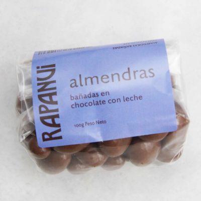 Almendras Bañadas en Chocolate con Leche