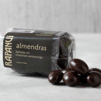 Almendras Bañadas en Chocolate Semiamargo