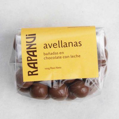 Avellanas Bañadas en Chocolate con Leche
