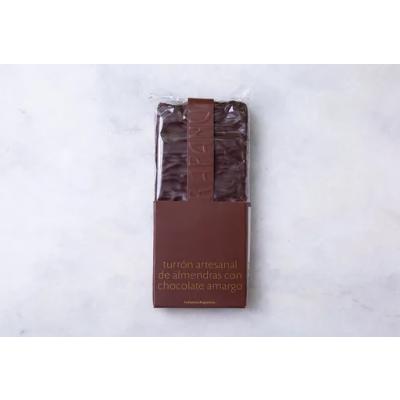 Turrón de Almendras bañado en Chocolate
